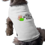 Irish Drinking Crew Beer And Clover Pet Clothing