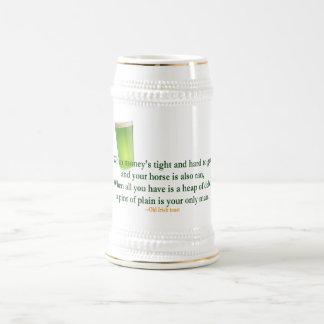 Irish Drinking Saying 2 - Stein/Mug Beer Stein