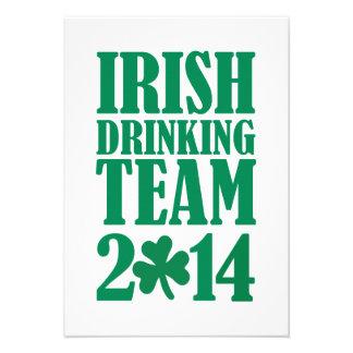 Irish drinking team 2014 invite