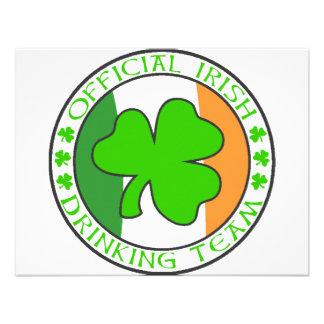 Irish Drinking Team Invite