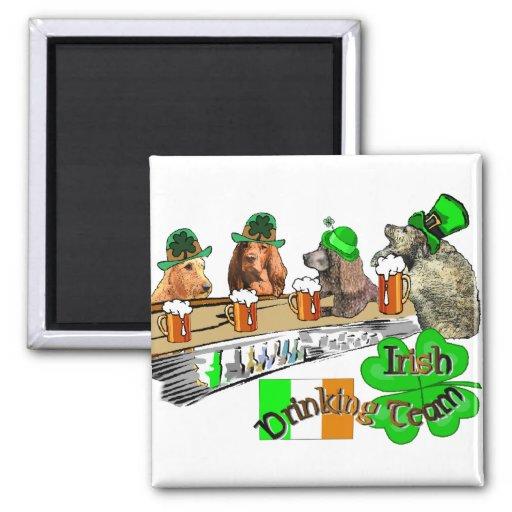 Irish Drinking Team Magnets
