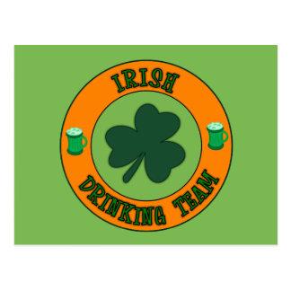 Irish Drinking Team Postcards