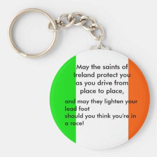 Irish Driver s Blessing Key Chains