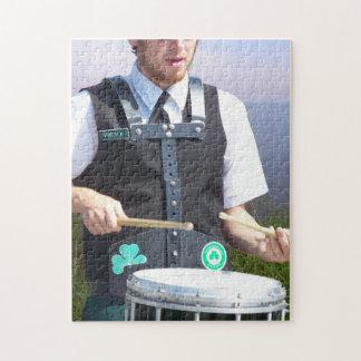 Irish Drummer Jigsaw Puzzles