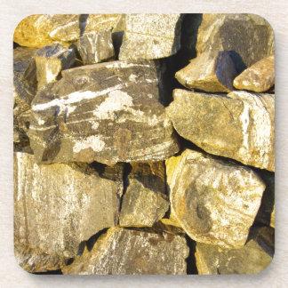 Irish Dry stone wall. Coaster