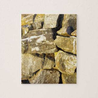 Irish Dry stone wall. Jigsaw Puzzle