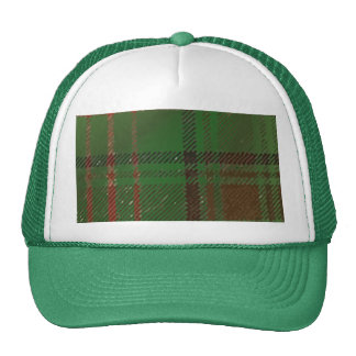Irish Dublin Plaid Tartan Cap