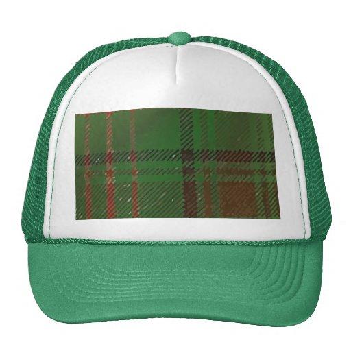 Irish Dublin Plaid Tartan Hat