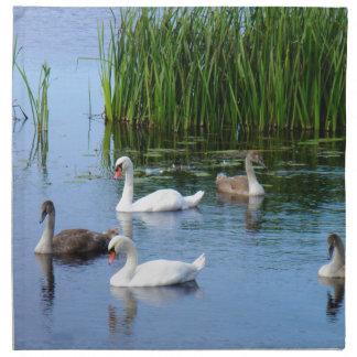 Irish ducks on the River Shannon Napkin
