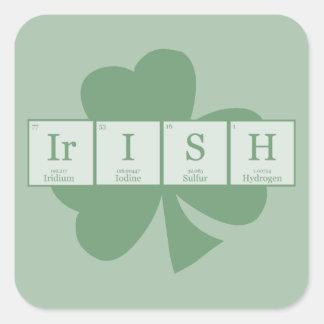 Irish [Elements] Square Sticker