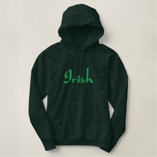Irish embroidered sweatshirt