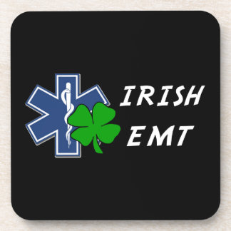 Irish EMT Beverage Coasters
