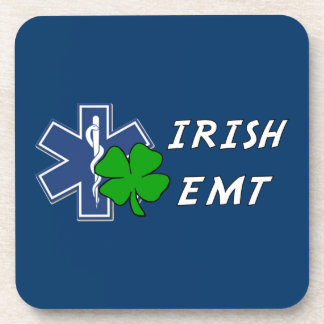 Irish EMT Beverage Coaster