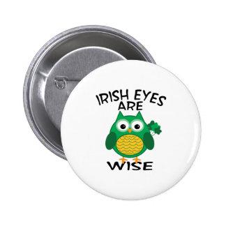 Irish Eyes 6 Cm Round Badge
