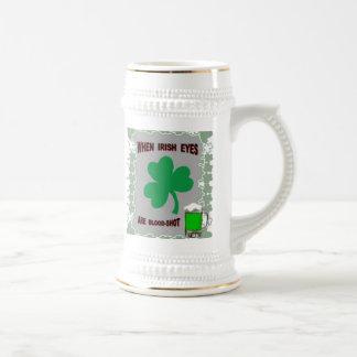 IRISH EYES BEER STEIN