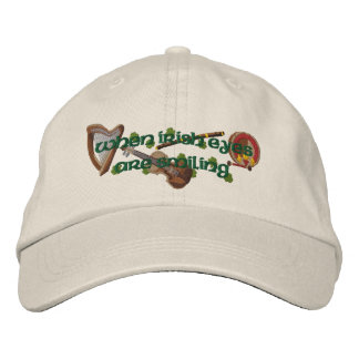 Irish Eyes Embroidered Cap