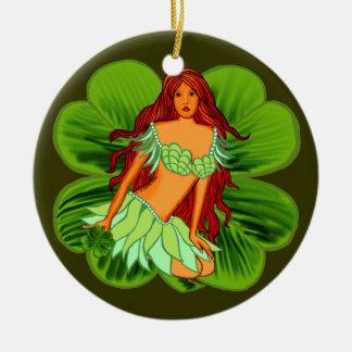 Irish Fairy Christmas Ornaments