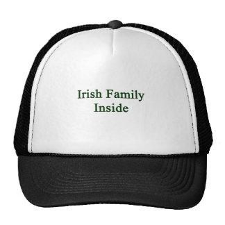 Irish Family Inside Mesh Hat