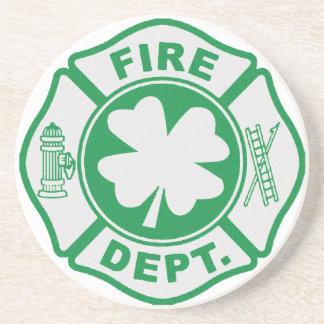 Irish Firefighter Coaster