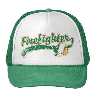 Irish Firefighter Trucker Hat