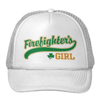 Irish Firefighter's Girl Hat