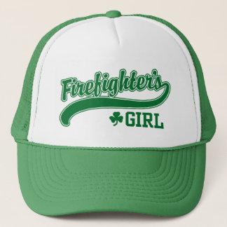 Irish Firefighter's Girl Trucker Hat