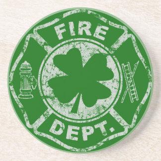 Irish Firemen Coaster