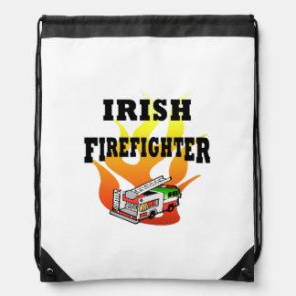 Irish Firemen Drawstring Bag