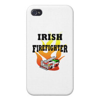 Irish Firemen iPhone 4 Cases
