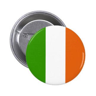 Irish Flag 6 Cm Round Badge