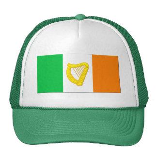 Irish Flag and the Irish Harp Cap