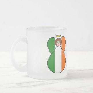 Irish Flag Angel Shamrock Eyes Mugs