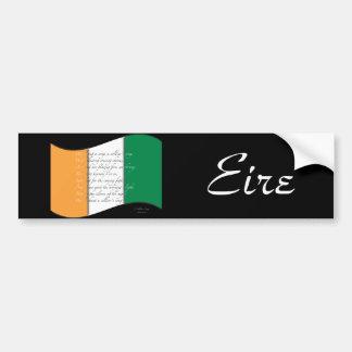 Irish flag/Anthem Bumper Sticker