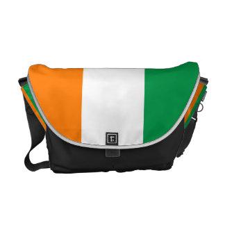 Irish flag bag courier bag
