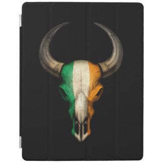 Irish Flag Bull Skull iPad Cover