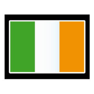 Irish Flag Colors Gift Postcard