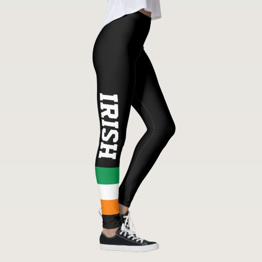Irish flag custom leggings for St Patricks Day