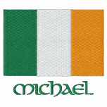Irish Flag Customisable Embroidered Shirt Design