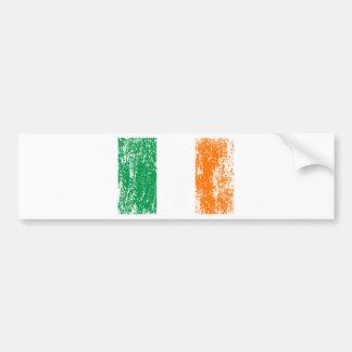 Irish Flag Drinking Team Car Bumper Sticker