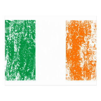 Irish Flag Drinking Team Postcard