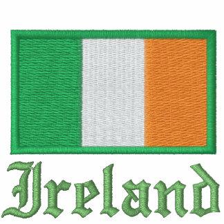 Irish Flag Embroidered On Shirt Polo Shirt