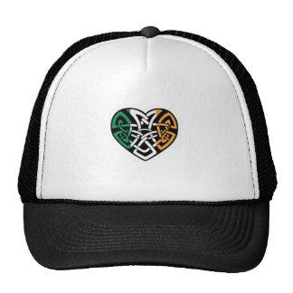 Irish Flag Heart Cap