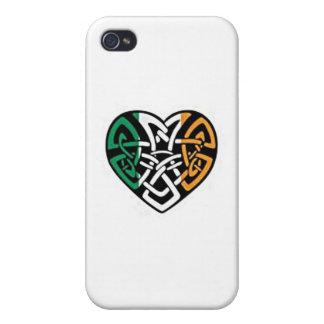 Irish Flag Heart iPhone 4 Case