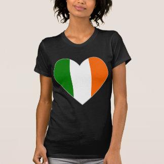 Irish Flag Heart Valentine T-Shirt