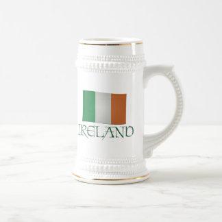 Irish Flag -- Ireland Beer Stein
