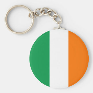 Irish Flag Key Ring