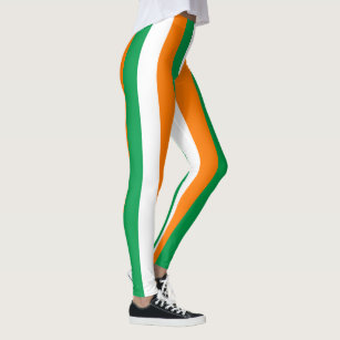 c89956f3a01c9 Women's Flag Of Ireland Leggings & Tights | Zazzle UK