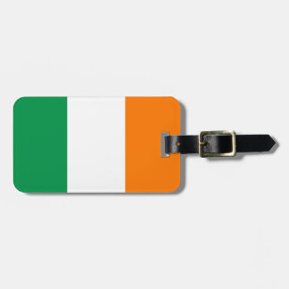 Irish flag luggage tags for bags and suitcases