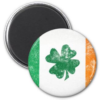 Irish Flag 6 Cm Round Magnet