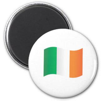 Irish Flag Refrigerator Magnet